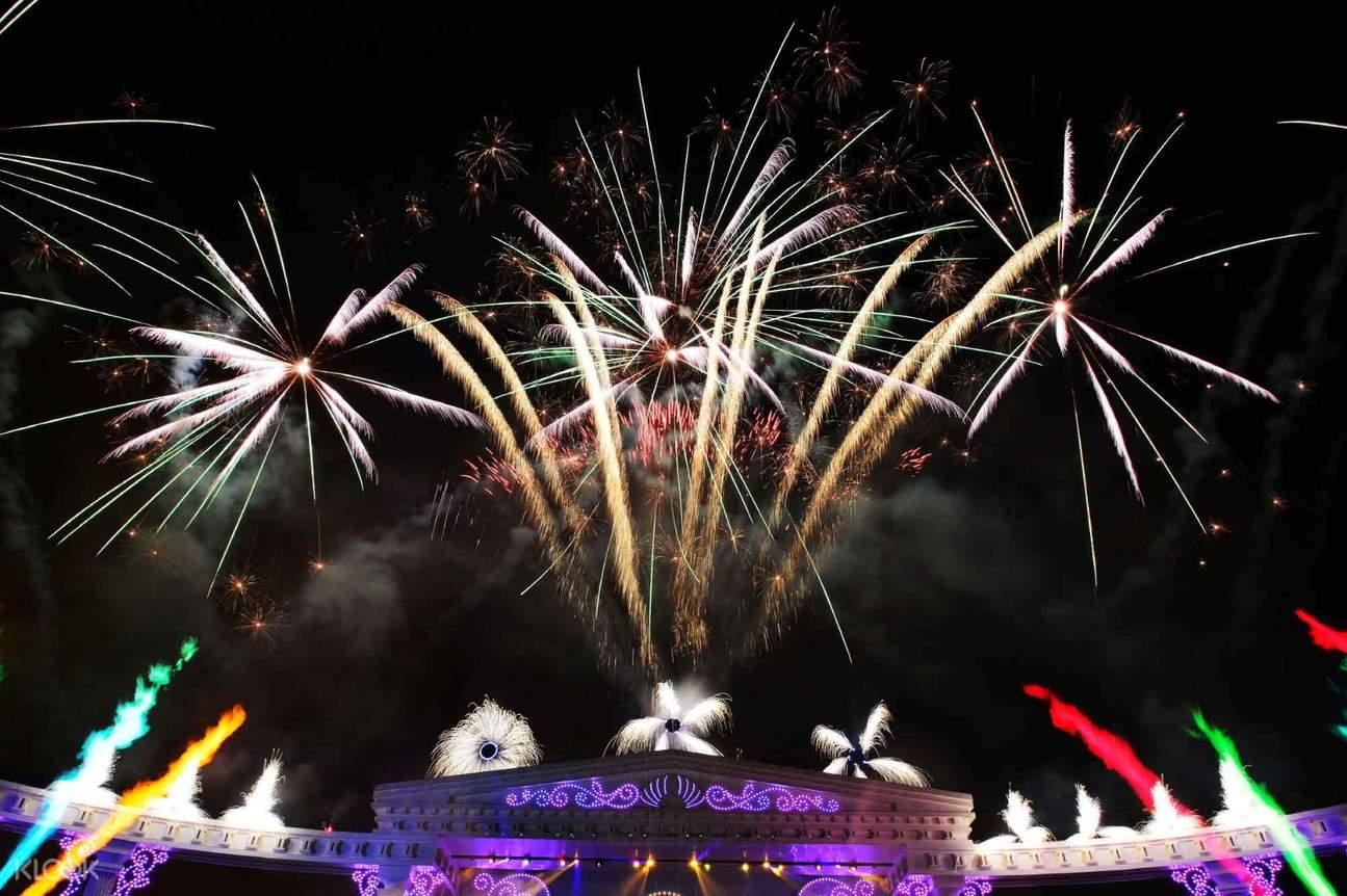 fireworks in everland
